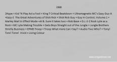1988 hiphop