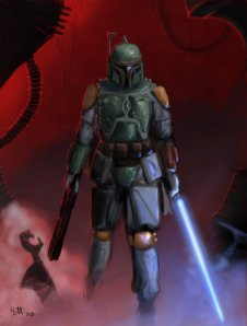 "Boba Fett by ""umbrafox"" SOURCE : devianart"